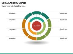 Circular ORG Chart PPT Slide 41