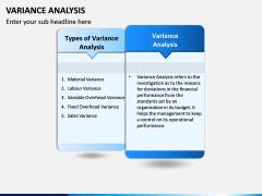 Variance Analysis PPT Slide 2