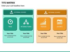 TITE Matrix PPT Slide 9