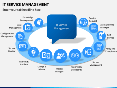 IT Service Management PPT slide 1