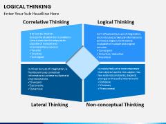 Logical thinking PPT slide 4