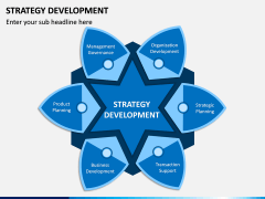 Strategy Development PPT Slide 1