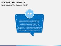 Voice of the Customer PPT Slide 1