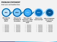 Problem Statement PPT Slide 5