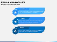 Mission, Vision and Values PPT Slide 13