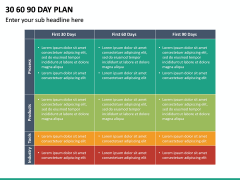 30 60 90 Day Plan PPT Slide 50