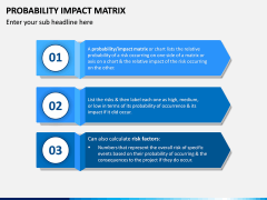 Probability Impact Matrix PPT Slide 7