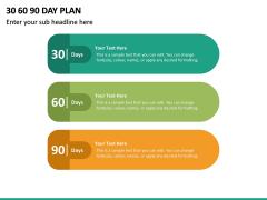 30 60 90 Day Plan PPT Slide 39