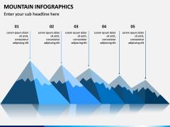 Mountain Infographics PPT Slide 11