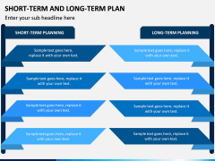 Short Term and Long Term Plan PPT Slide 2