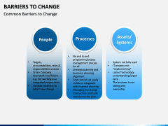 Barriers to Change PPT slide 4