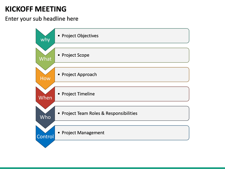 Kickoff Meeting Powerpoint Template