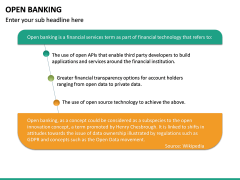 Open Banking PPT slide 22