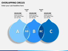 Overlapping Circles PPT Slide 9