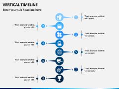 Vertical Timeline PPT Slide 12