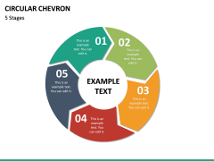 Circular Chevron PPT Slide 20