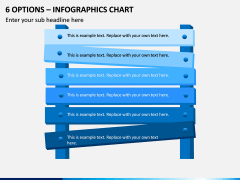6 Options – Infographics Chart PPT Slide 1