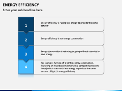 Energy Efficiency PPT Slide 15