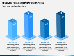 Revenue Projection Infographics PPT Slide 5