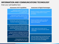 Information & Communications Technology (ICT) PPT Slide 10