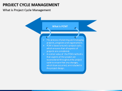 Project Cycle Management PPT Slide 1