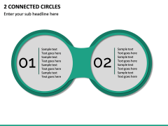 2 Connected Circles PPT Slide 2
