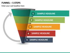 Funnel – 5 Steps PPT Slide 2