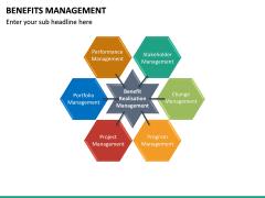 Benefits management PPT slide 22