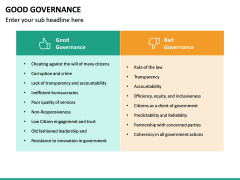 Good Governance PPT Slide 29