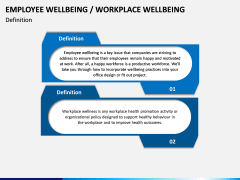 Employee Wellbeing PPT Slide 1