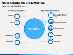 Above and Below the Line Marketing PPT Slide 5