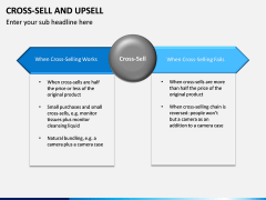 Cross Selling Up Selling PPT Slide 13
