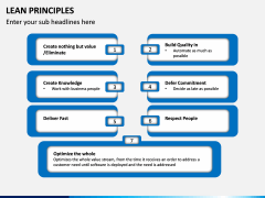 Lean Principles PPT slide 6