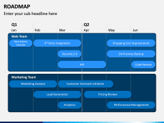 Roadmap PPT Slide 6