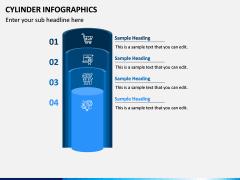 Cylinder Infographics PPT Slide 2
