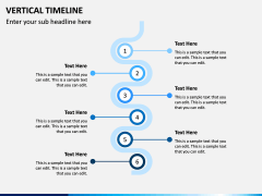 Vertical Timeline PPT Slide 10