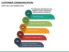 Customer Communication PPT Slide 30