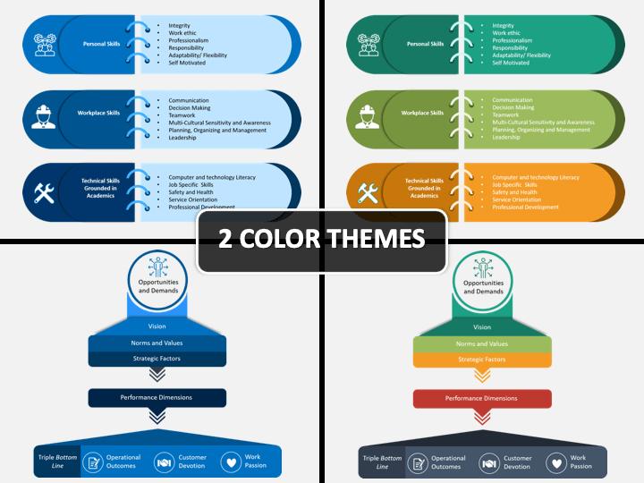 Organizational Framework PPT Cover Slide