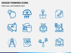 Design Thinking Icons PPT Slide 1