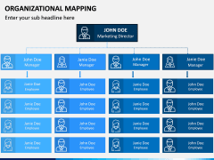 Organizational Mapping PPT Slide 1
