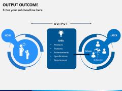 Output Outcome PPT Slide 4