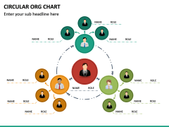 Circular ORG Chart PPT Slide 37