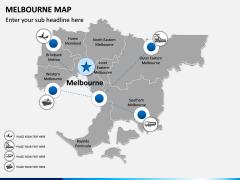 Melbourne Map PPT Slide 6