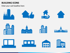 Building Icons PPT Slide 2