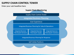 Supply Chain Control Tower PPT Slide 5