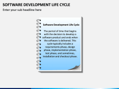 Software Development Lifecycle PPT Slide 1