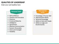 Qualities of Leadership PPT Slide 26