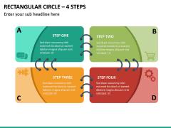 Rectangular Circle – 4 Steps PPT Slide 2