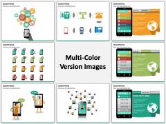 Smartphone Multicolor Combined