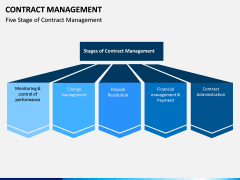 Contract management PPT slide 7